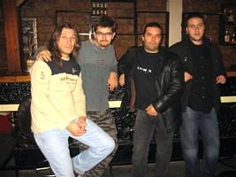 Članovi niškog rok benda