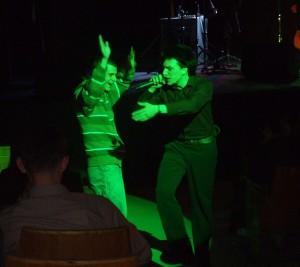 Slobodan Trkulja na koncertu u Užicu