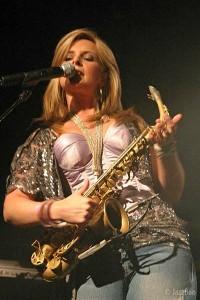 Candy Dulfer na Nisville jazz festivalu 2009.