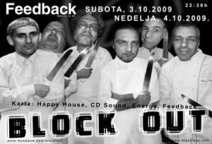 Koncert grupe Block Out u Nisu, klub Feedback