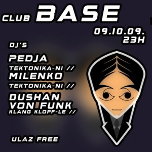 tektonika @ club base
