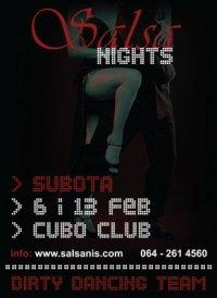 Salsa žurke u Cubo club-u!