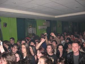 Osvajači, SKC, Niš, publika