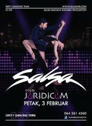 Salsa žurka u klubu Juridicum - 3. februara