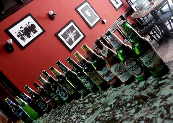 Izbor piva u pivnici Nemir
