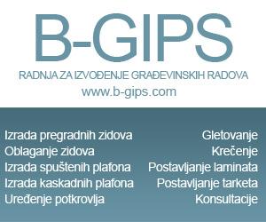 Radnja za izvođenje građevinskih radova B-Gips